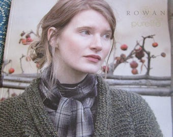 Rowan Purelife 17 Gorgeous Sweaters Knitting Patterns Book