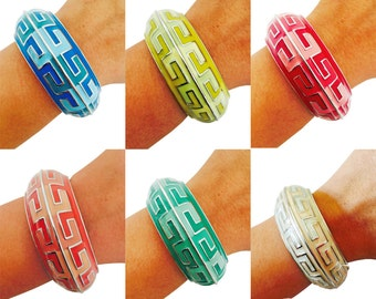 Bracelet for Fitbit Charge and Other Fitness Activity Trackers -THE BEVERLY Bangle Bracelet -Free Shipping - 8 Colors