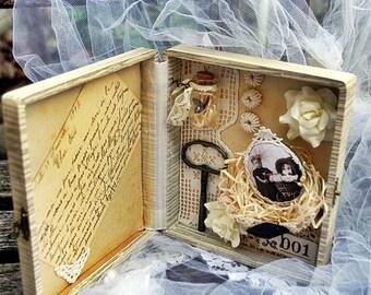 Vintage childhood memories box