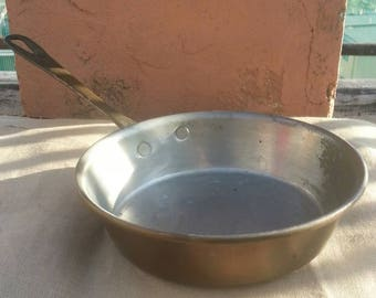 Vintage copper pan/Italian copper pan
