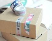 custom washing tape, starts from 5 rolls, masking tape, scrapbooking, diy, craft, party tape, wedding favour, decorating, custom tape