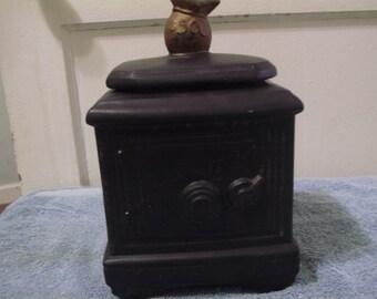 Black Safe Cookie Jar