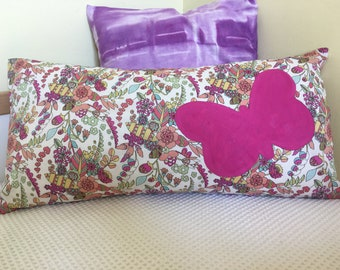 Rectangular cushion - Butterfly on Liberty