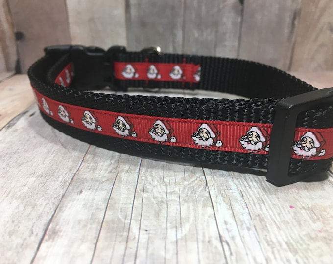"The Kringle | Designer 3/4"" Width Dog Collar 
