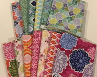 Kate Spain TERRAIN -- 13 Fat Quarter Bundle moda cotton quilting fabric oop VHTF