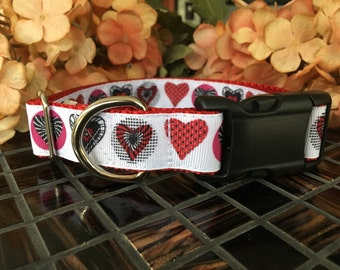 Hearts Dog Collar SALE