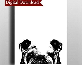 British Bulldog DIGITAL Print Download