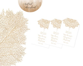 baptism favor tags, labels, stickers & tags, christening favor tags, dedication favor tags, first communion
