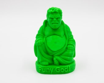 Hulk Buddha Statue/Figurine,Marvel,Replica,Model,Gadget,Geek,Toy,The Avengers,Smash