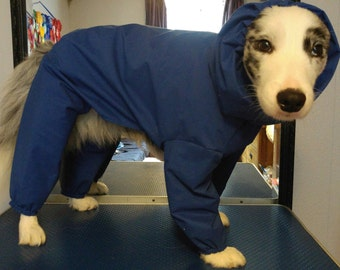 Waterproof all in one dog coat
