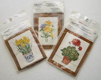 Charmin Cross Stitch Botanical Kits