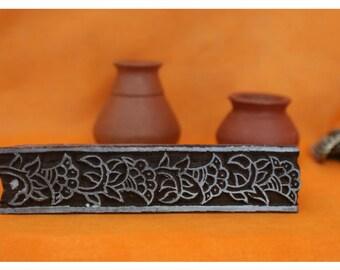 094# Woodblock printing, handmade stamp