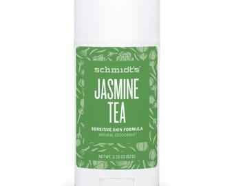 Jasmine Tea (Sensitive Skin Stick, 3.25 oz.) - Schmidt's Natural Deodorant