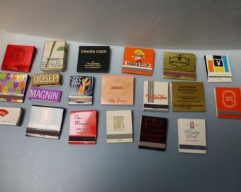 Iconic san francisco restaurants of the past matchbooks highly collectible