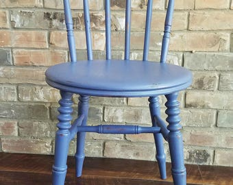 Antique Accent Chair from Sweden - Hand-Painted  ** local pickup / delivery only **