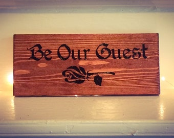 Guest Wooden Sign