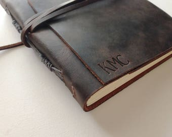 Leather Journal, Leather Notebook
