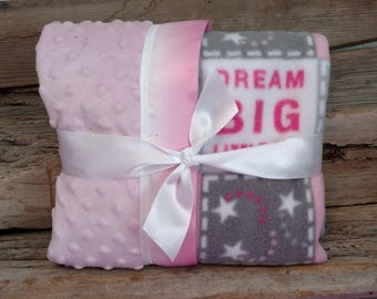 Dream big little one blanket