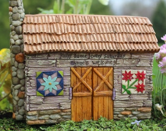 Fairy Garden  - Fairy Barn - Miniature