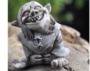 Fairy Garden  - Toader Troll - Miniature