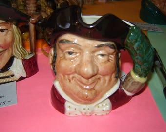 Royal Doulton character mug, toby jug, Mine Host