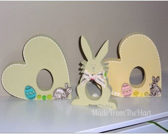 Personalised Easter Egg Cream Egg Holders...Many Shapes Available