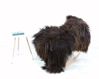 Genuine Icelandic sheepskin rug, single, 150cm x 80cm, G465