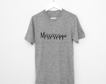Mississippi state university etsy for T shirts jackson ms