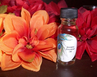Jasmine Essential Oil 1/2 oz Bottle