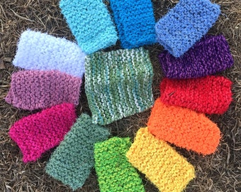 tea green KITCHEN Body SCRUBBY Scrubbies, Pick your Color Scrubby,