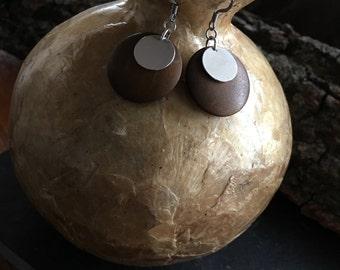 Wooden Disc Dangle