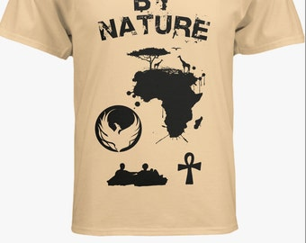 Black By Nature tee