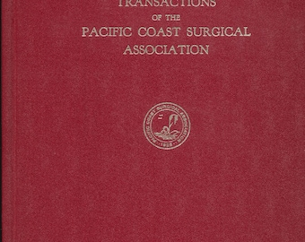 Transactions of the Pacific Coast Surgical Association 1976
