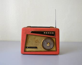 Vintage radio transistor OCEANIC CROISIERE made in France 50s