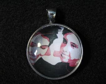 Tegan and Sara Pendant Necklace or Keychain or Necklace