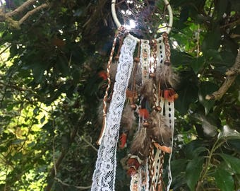 White & Brown Dreamcatcher