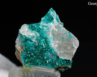 Dioptase from Namibia Natural Rough Crystal Mineral Specimen *FREE SHIPPING*