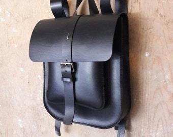 Leather Backpack, Rucksack,