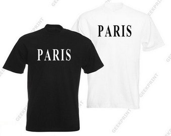 Paris t-shirt tee city France french French vintage tshirt fashion capital travel romantic country french Eiffel Tower size S M L XL