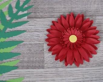 Paper Flower - Gerbera, Transvaal daisy, DIY wedding flowers, decorations