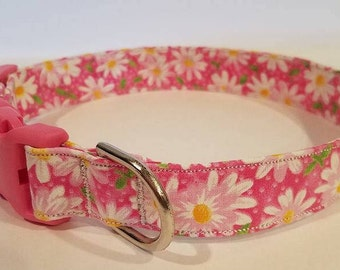 Daisies for days! Dog collars