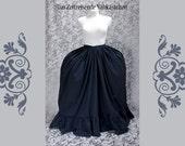 Unterrock für Rokoko - Roben, Barock, Panier, Poschen - Farbe und Maß nach Kundenwunsch