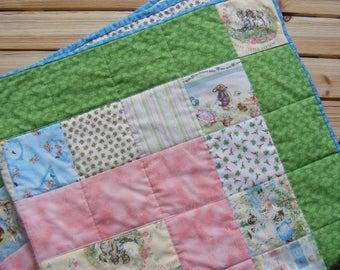 Beatrix potter quilt   Etsy : peter rabbit baby quilt - Adamdwight.com