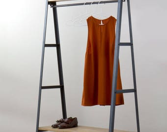 KONK! 'Simple' Industrial Clothes Rail [Bespoke sizes available!] modern, storage, hanging, wardrobe