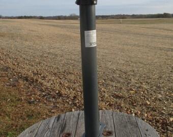 harbor freight bench grinder pedestal stand vintage industrial table base leg - Pedestal Table Base