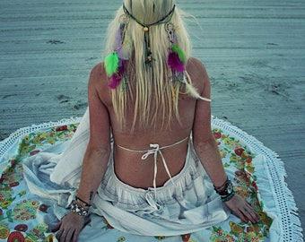Fuchsia Bohemian Headband