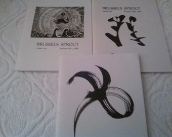 Haiku Journals, Brussels Sprout publications, Japanese Haiku, senryu, meditation books, poetry books