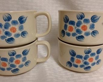 Set of 4 OTAGIRI Soup Mugs