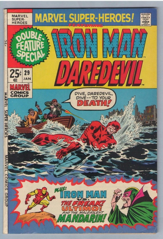 Marvel Super-Heroes 29 Jan 1971 FI (6.0)