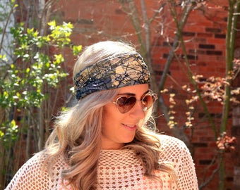 BUY 2 get 1 FREE!! Sail the World Yoga Headwrap, Fitness Workout Headband, Running Headband, Top Selling Item, Boho Headband, Yoga Headband
